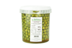 Castelvetrano Pitted Olives in Brine - Bucket 8,3 l - VMACS04