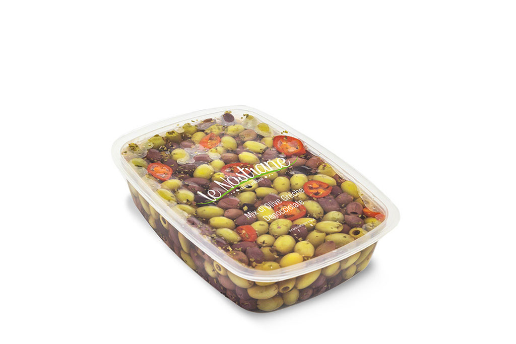 Mix of Greek Olives Marinated