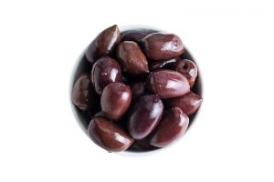 Black Kalamon Olives - Olive kalamon intere in salamoia - Le Nostrane