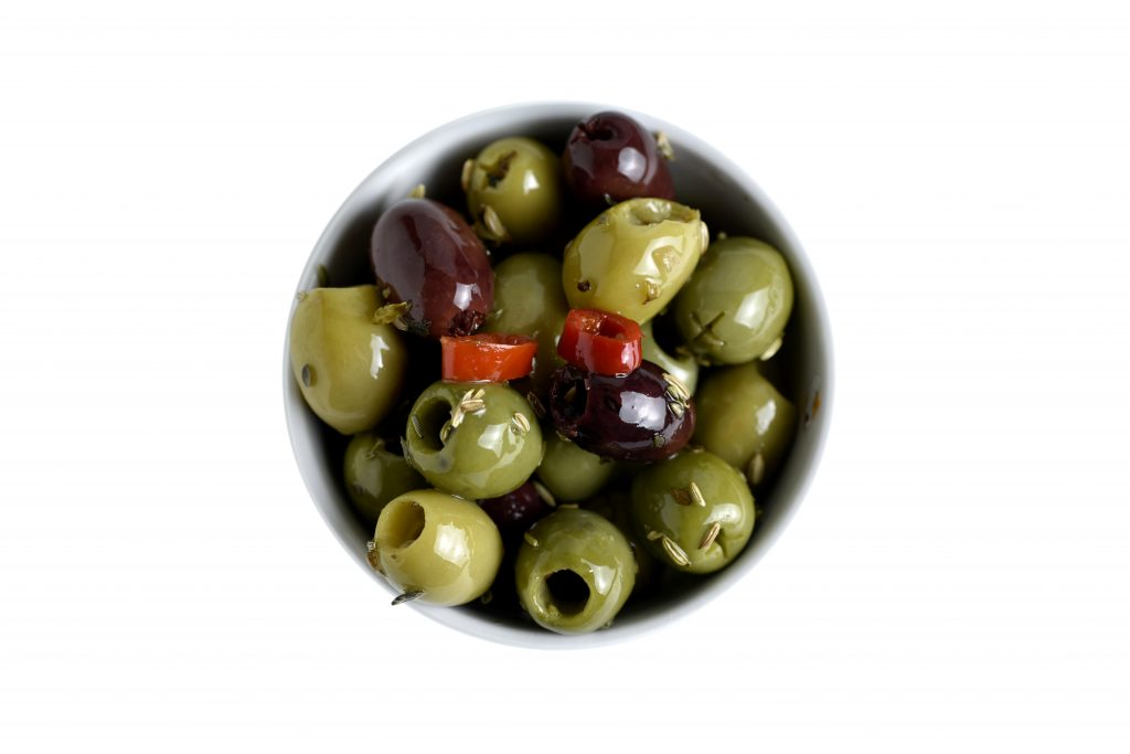 Mix of Pitted Italian Olives in Oil