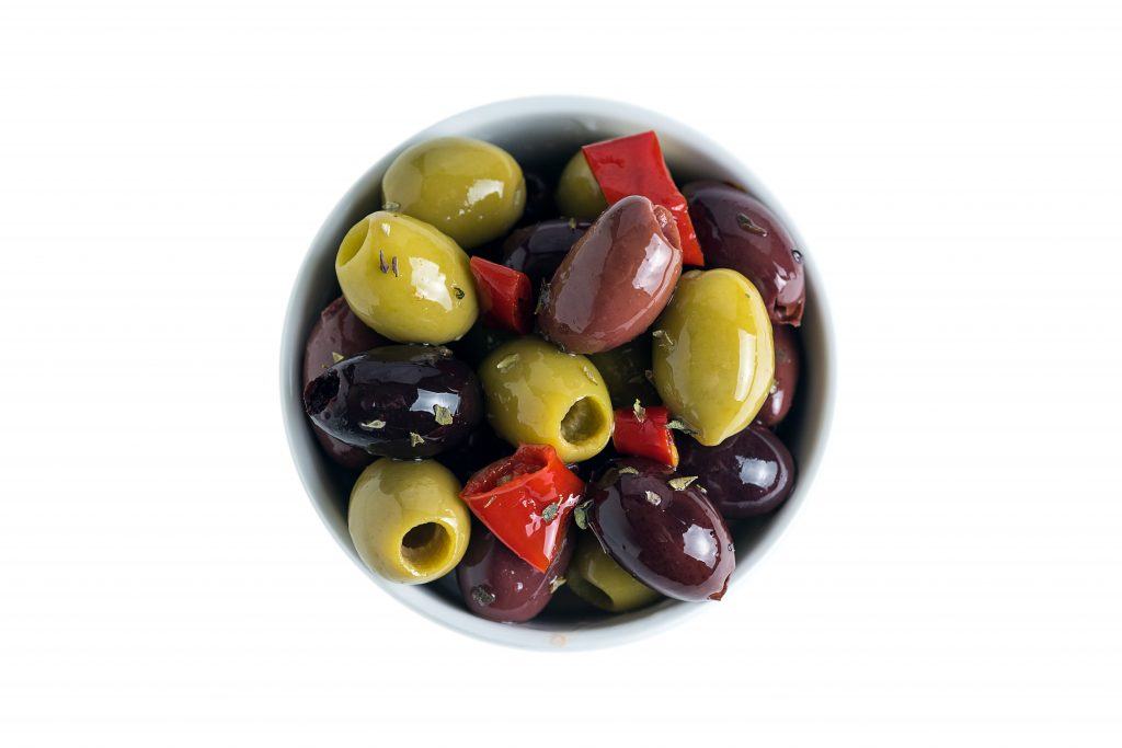 Mix of Pitted Mediterranean Olives