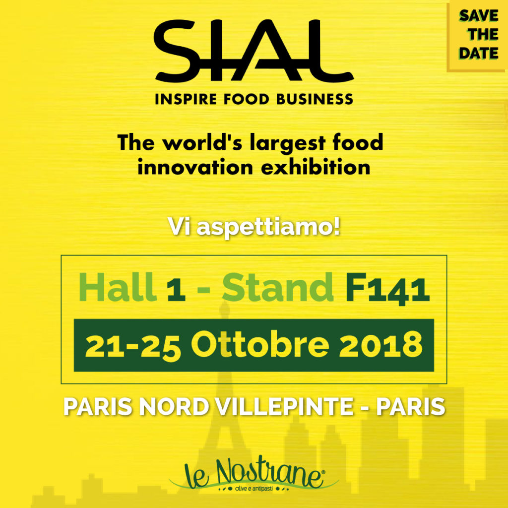 SIAL 2018 | 21-25 October @Paris