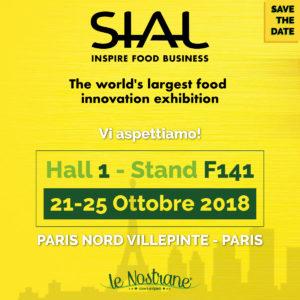 SIAL 2018 | 21-25 Ottobre @Parigi