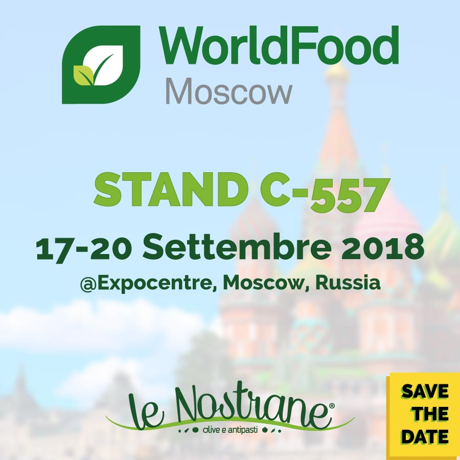 WorldFood Moscow 2018 | 17-20 Setpember 2018 @Moscow