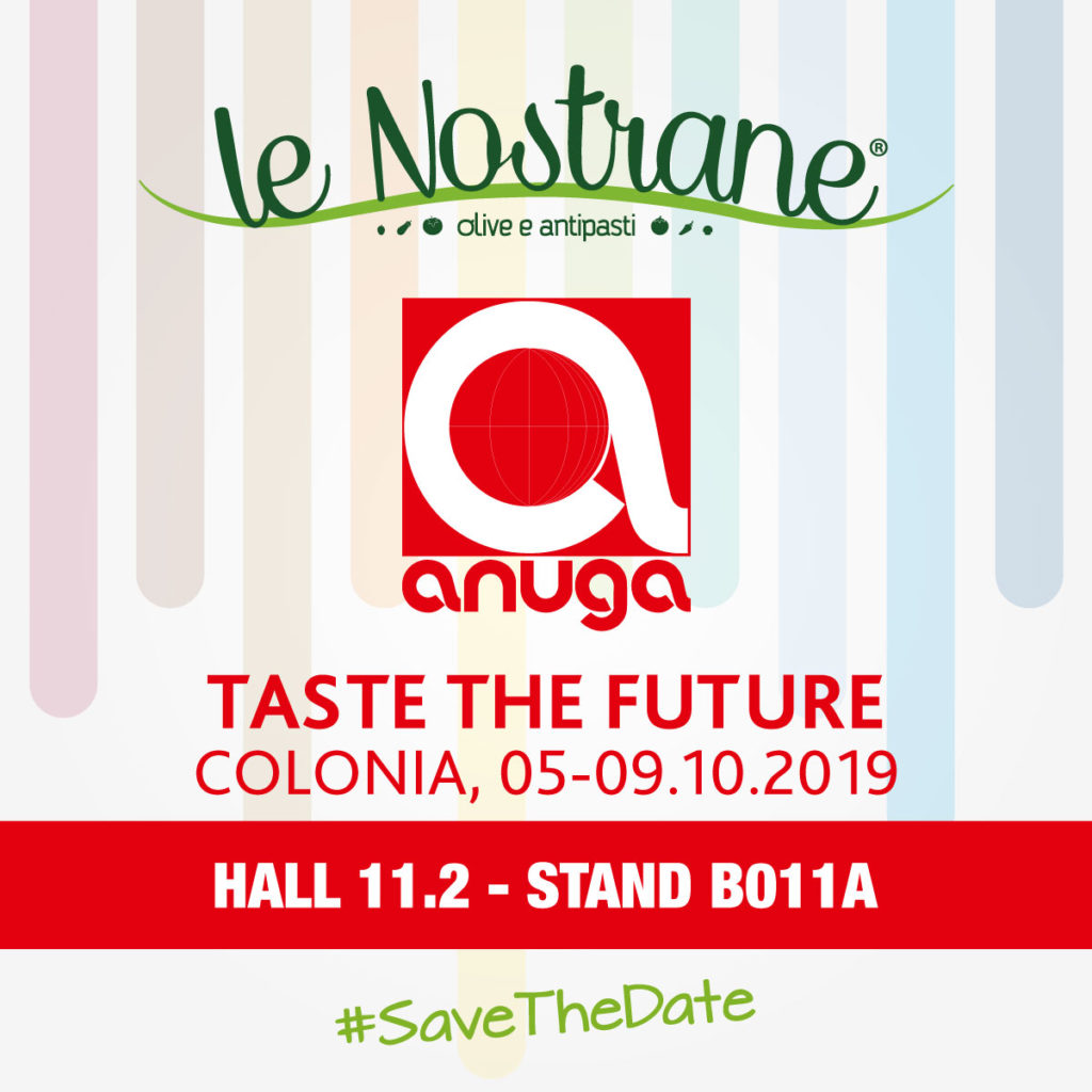 Anuga 2019 | 5-9 October @Colonia (Germany)