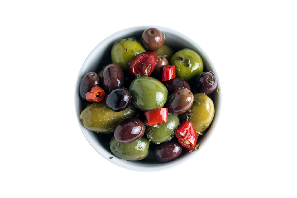 Mix of Whole Olives Marinated